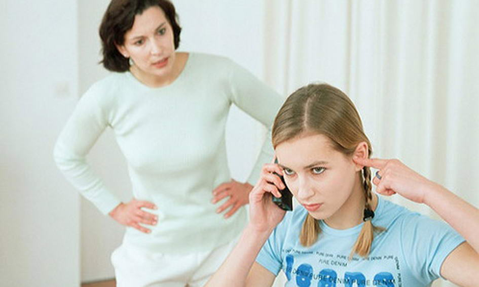 Этапы переходного возраста, Мама и ребенок