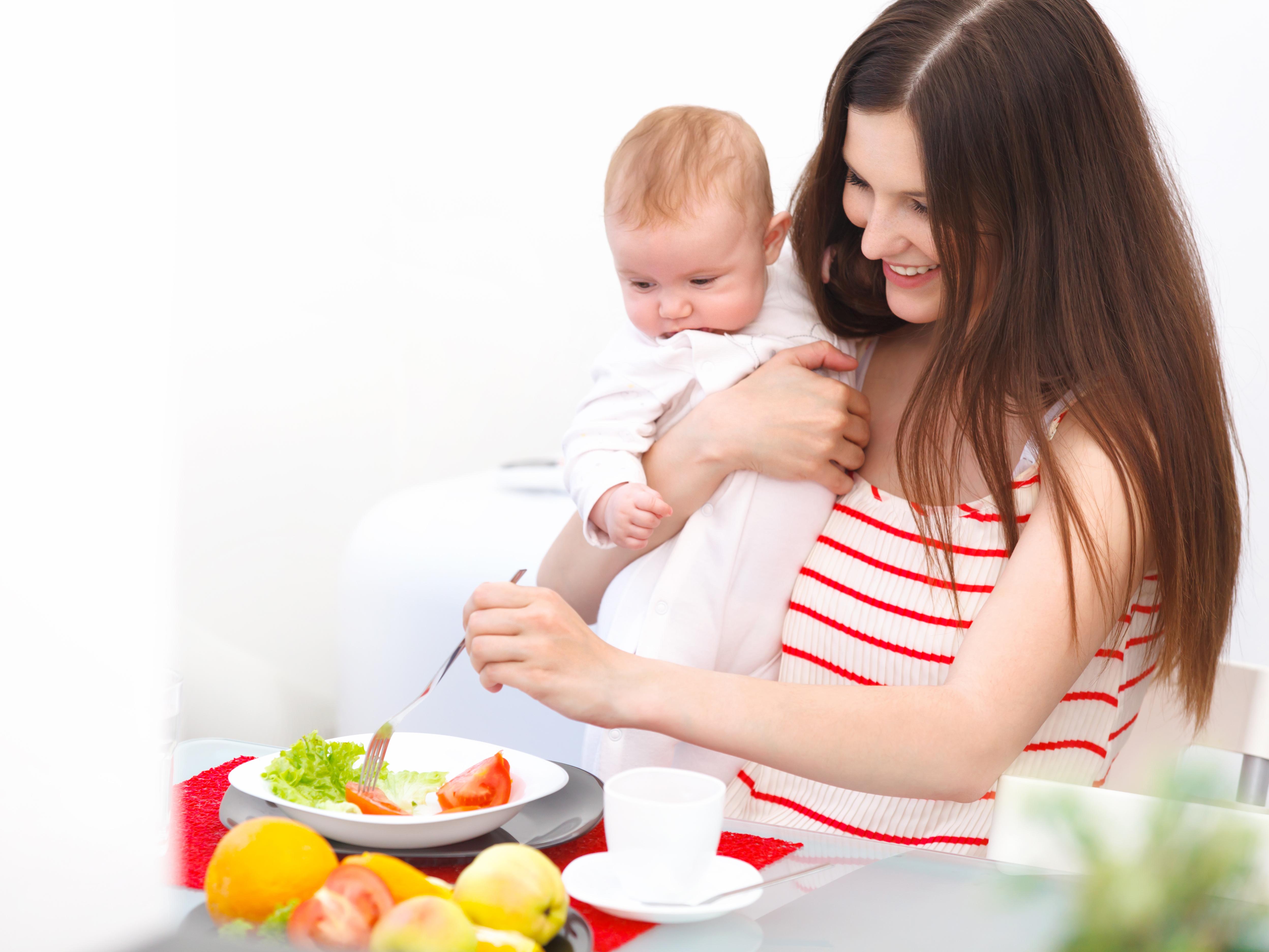 При как похудеть ребенка кормления