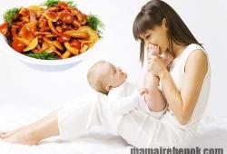 Можно ли кормящей маме грибы?