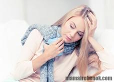 Как лечить горло кормящей маме?